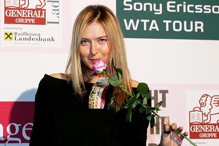 maria sharapova tennis 2009. Maria Sharapova was born on