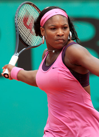 Sometimes Controversial Serena Williams Has An Arsenal of Weapons
